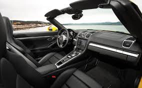 Porsche Boxster Spyder - porsche boxster spyder interior console 2016 porsche boxster