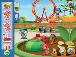 team umizoomi carnival storybook apps ipad iphone android