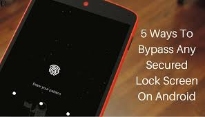 pattern lock screen for ipad 2 different ways to bypass any secured lock screen on android