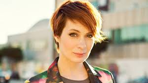 what is felicia day s hair color the jv club 153 felicia day nerdist