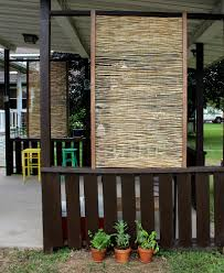 Outdoor Patio Privacy Ideas by Privacy Screen For Deck Porch And Patio Railings The Green Head