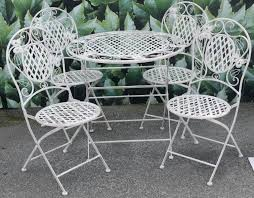 White Metal Patio Chairs White Metal Patio Furniture Quiky Co
