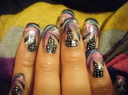 polka dot nails nail art freehand nail art designs 30 greatest