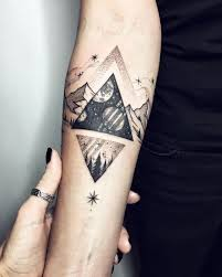 the 25 best triangle tattoos ideas on pinterest triangle tattoo