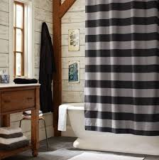 Shower Curtains For Guys Boys Bathroom Rugby Stripe Shower Curtain Eclectic Shower Curtain