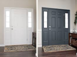 Interior Door Color Painted Interior Front Door Giveaway How To Nest For Less