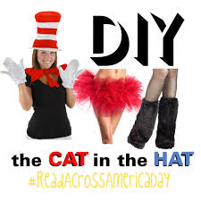 cat in the hat costume diy cat in the hat costume polyvore