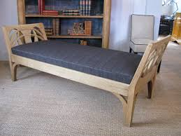 1920s bleached oak danish daybed benches stools daybeds