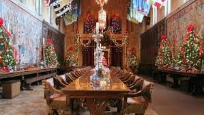 Hearst Castles Holiday Style NBC Bay Area - Hearst castle dining room