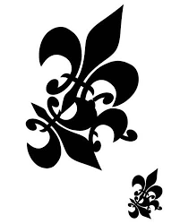 collection of 25 cool tribal frog stencil
