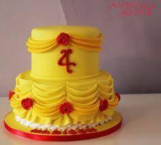cutest cake beauty beast theme