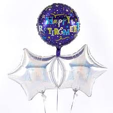 retirement balloon delivery retirement balloons card factory