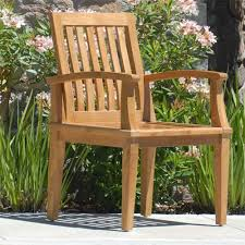 chair teak patio furniture sorrentos bistro home