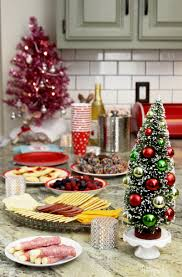 Christmas Party Treats - retro christmas party end of celebration