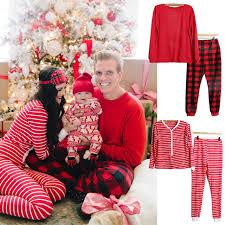 pudcoco family matching striped pajamas set mens
