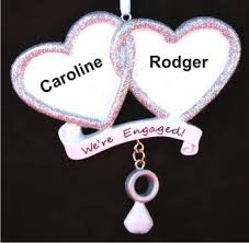 we re engaged two hearts become as one personalized
