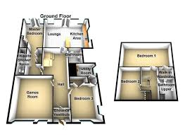 4 bedroom house plan and design brilliant 4 bedroom 2 bath house