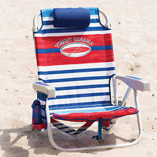 backpack cooler camping beach chair 5position folding towel bar