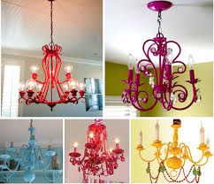 Painted Chandelier After My Last Post I Found That Budget Decorati Ng