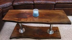 rustic solid wood coffee table real wood coffee table steeltownjazz