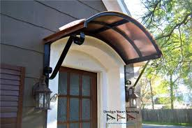 Awning Over Front Door The Eyebrow Gallery Copper Awnings Projects Gallery Of Metal