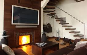 Living Room Setup With Fireplace by Four Reasons Not To Slap That Flat Screen Tv Over Your Fireplace