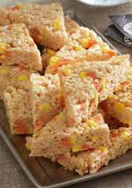 candy corn marshmallow rice krispies treats u2013 rice krispies treats