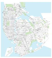 New York Borough Map by New York City Subways And Buses All On A Single Map U2013 Streetsblog