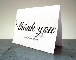 wedding thank you card script wedding thank you cards from wedding shower thank
