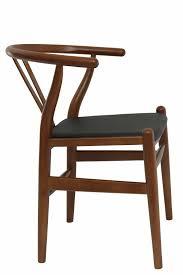 wishbone chair hans wegner replica leather cushion