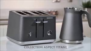 Morphy Richards Accent Toaster Bouilloire Aspect Titane 100004 Morphy Richards Youtube