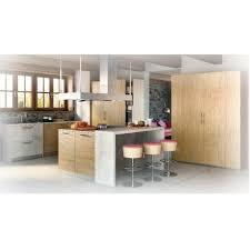 cuisine equipee bois cuisine moderne en chene sur mesure conception et réalisation neha