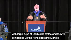 father greg boyle s j speaks at the 2015 senior commencement