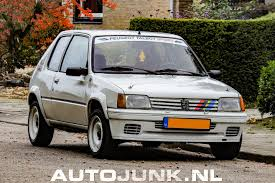 peugeot 205 rally peugeot 205 rallye 1 6 foto u0027s autojunk nl 205799