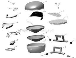 Patio Bistro Grill Char Broil 12601711 Parts List And Diagram Ereplacementparts Com