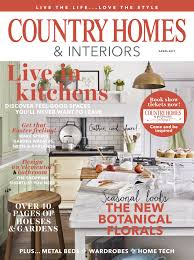 country homes u0026 interiors magazine