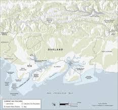 Oakland Ca Map Chris Henrick Cartography