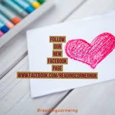the reading corner nigeria home facebook