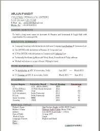 Best Sample Of Resume by Proper Format Of Resume Importance Of Value Proposition In The