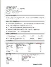 Best Sample Resumes by Proper Format Of Resume Resume Sample Format Pdf Sample Resume
