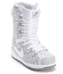 womens boots nike nike womens vapen white snowboard boots zumiez