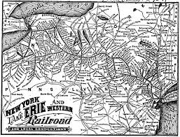 Unc Map Erie Railroad Wikipedia