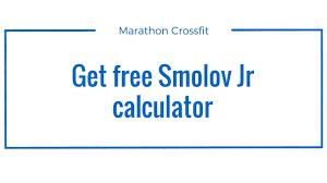 explanation for the smolov jr calculator free download