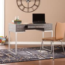 Home Depot Office Desk by Altra Furniture Pursuit Cherry And Gray Desk 9326196 The Home Depot