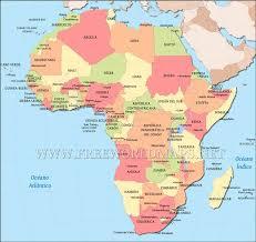 mapa de africa mapa de áfrica países africanos