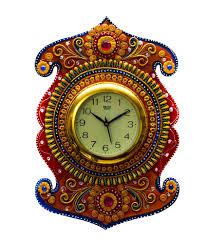Designer Wall Clock Sanskritihandicraft Designer Wall Clock Sanskritihandicraft