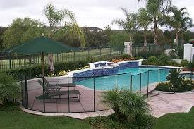 Cost Of Small Pool In Backyard The Safest U0026 Most Dependable Pool Fences And Pool Safety Nets
