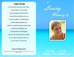 memorial cards for funeral memorial cards for funeral template free single fold funeral
