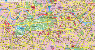 map attractions map of berlin tourist attractions sightseeing tourist tour