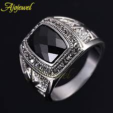 cool rings design images Brand new cool men 39 s jewelry fashion big stone rings star design jpg